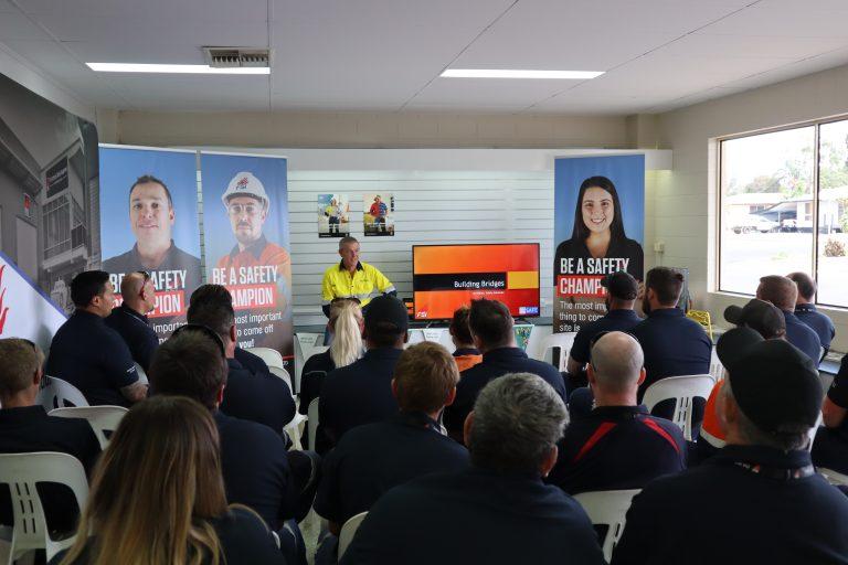 FSI Fire & Safety Industries Team attend Moranabh Safety Month Event with Keynote Speaker Jed Millen